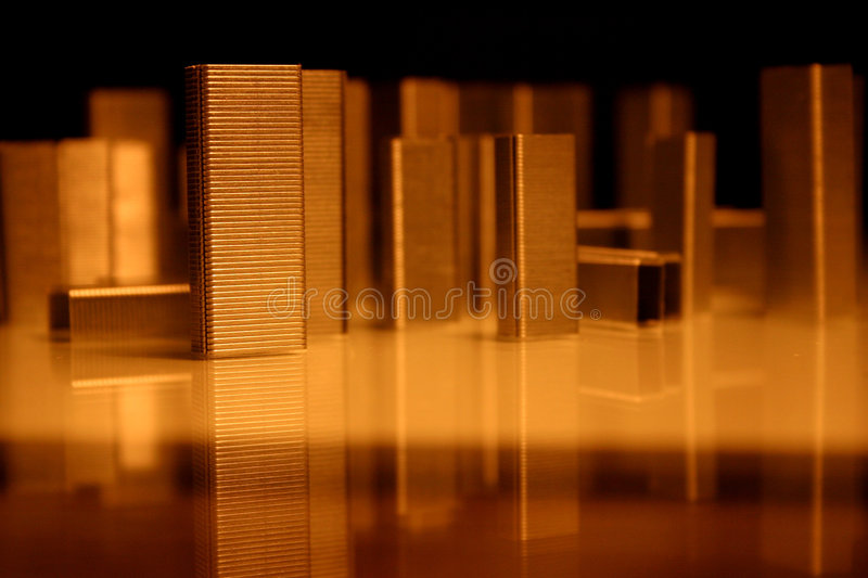 Staples' architecture, city royalty free stock image