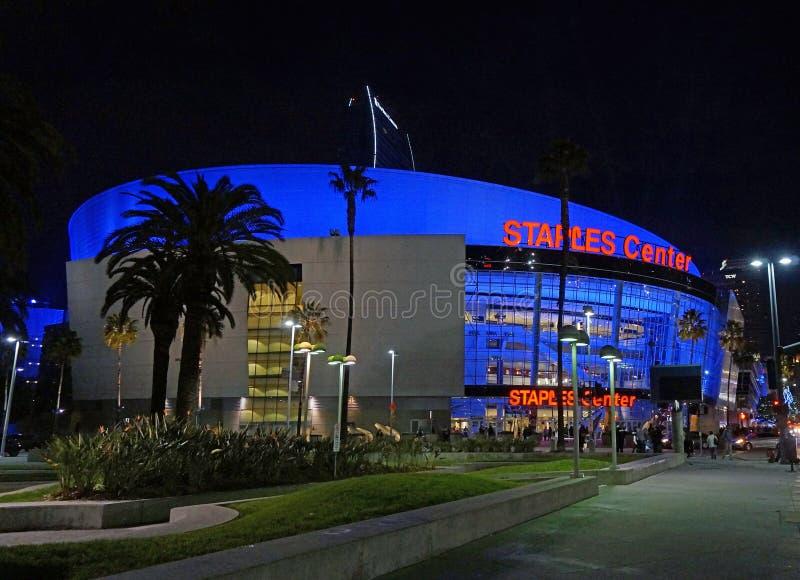 Staples Center à Los Angeles, CA image libre de droits