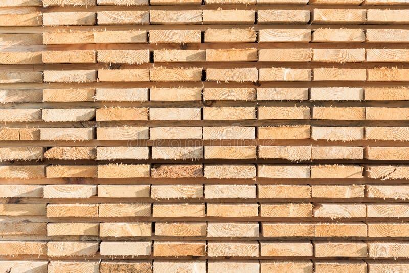 Staplungsbauholzhintergrund stockfotos