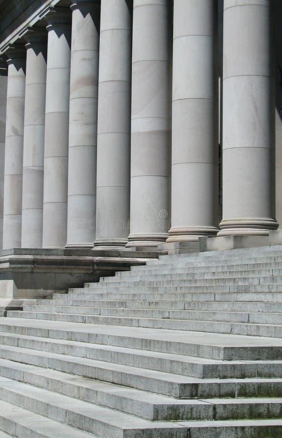Stappen aan het Capitoolgebouw in Olympia Washington stock foto's