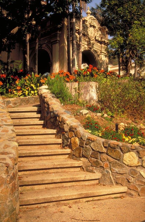 Stappen door Casa DE Balboa royalty-vrije stock afbeeldingen