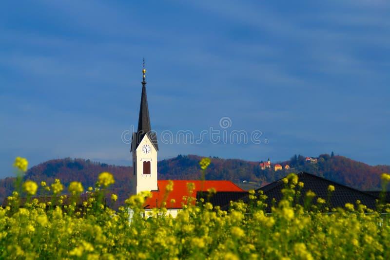 StarÅ ¡ e, Slovenien royaltyfri foto