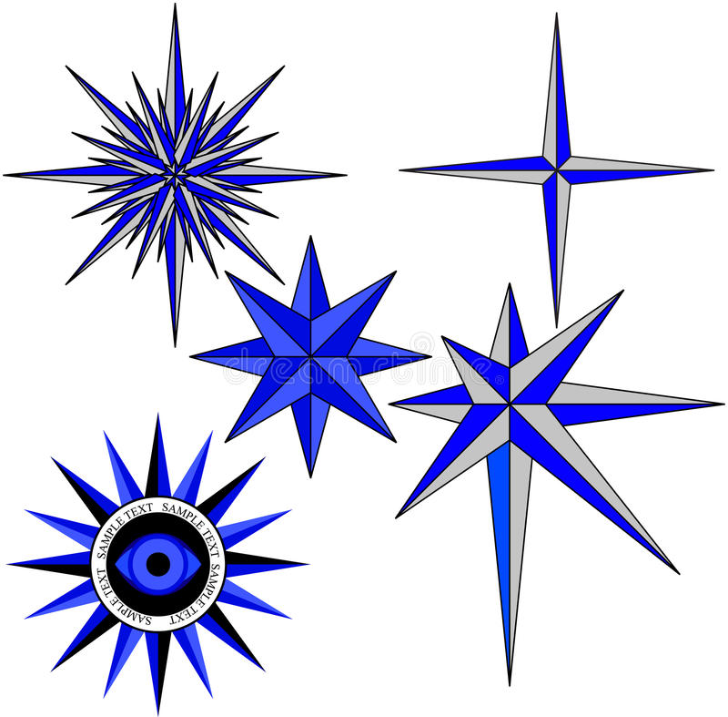 Download Star stock vector. Image of retro, expedition, north - 14853390