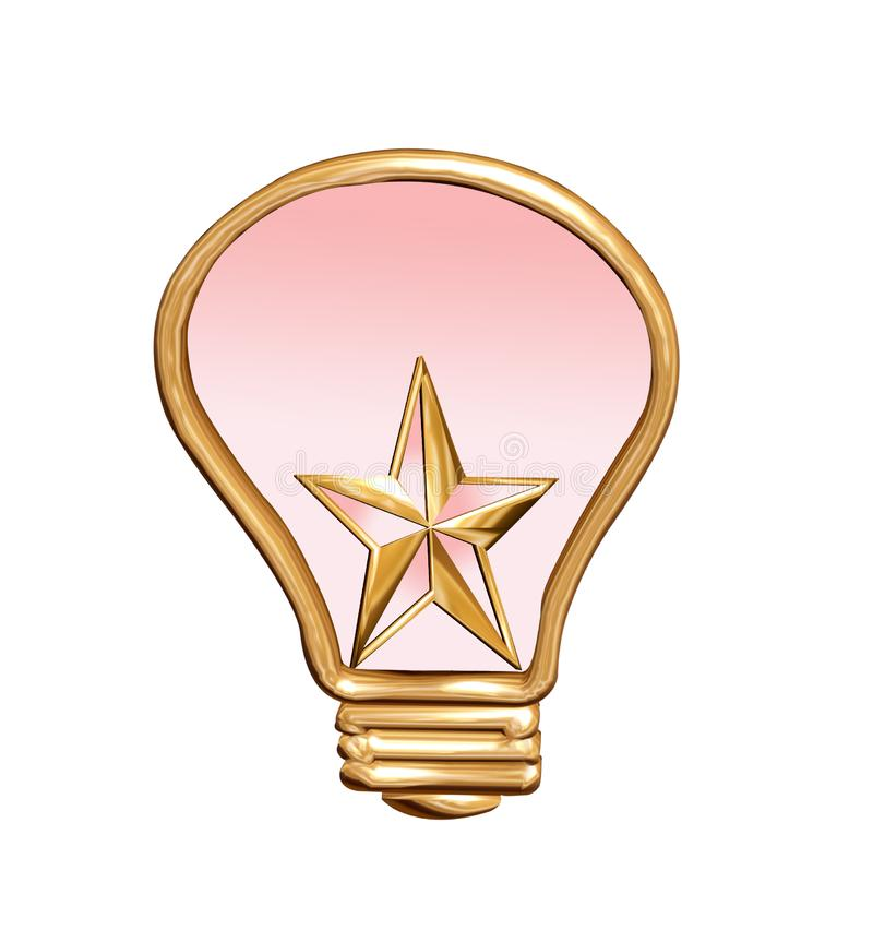 Download The star stock illustration. Illustration of electrical - 4207474