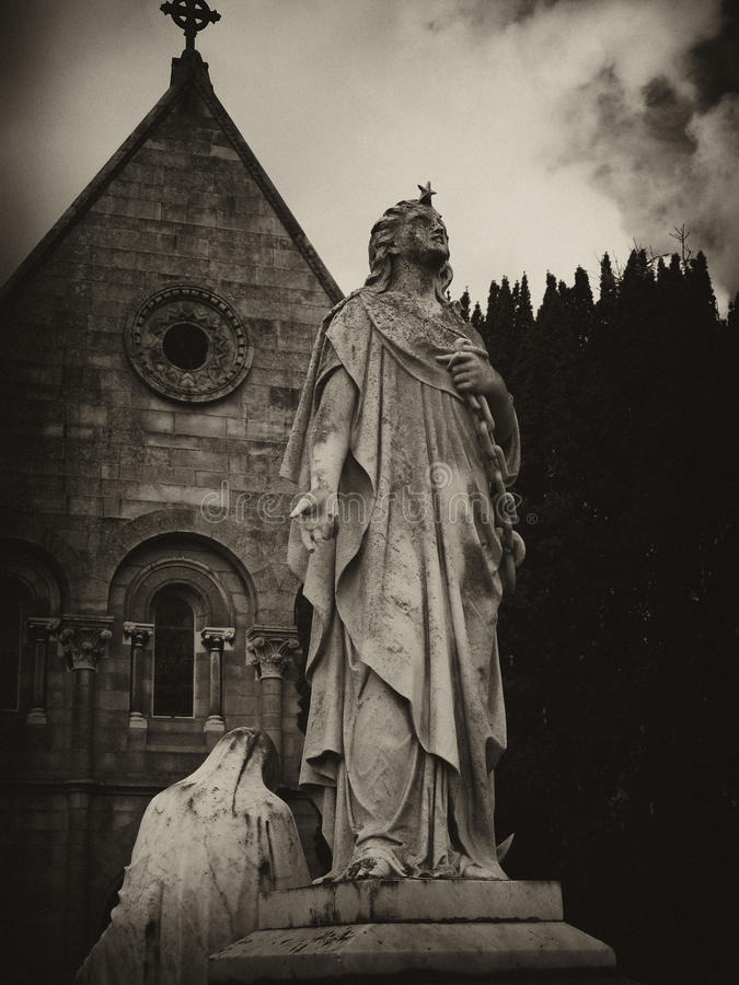 Star Angel of Glasnevin royalty free stock photo