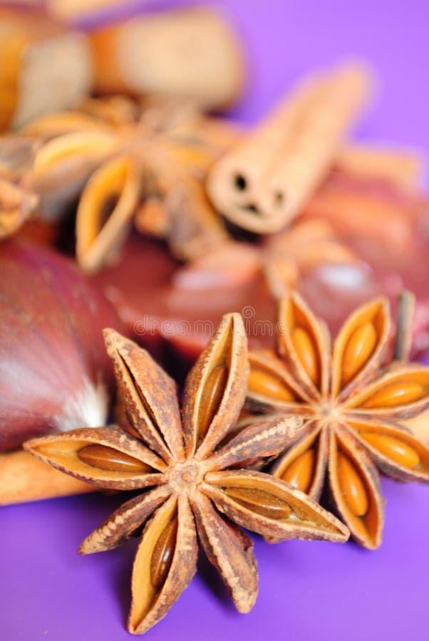 Star anise stock photos