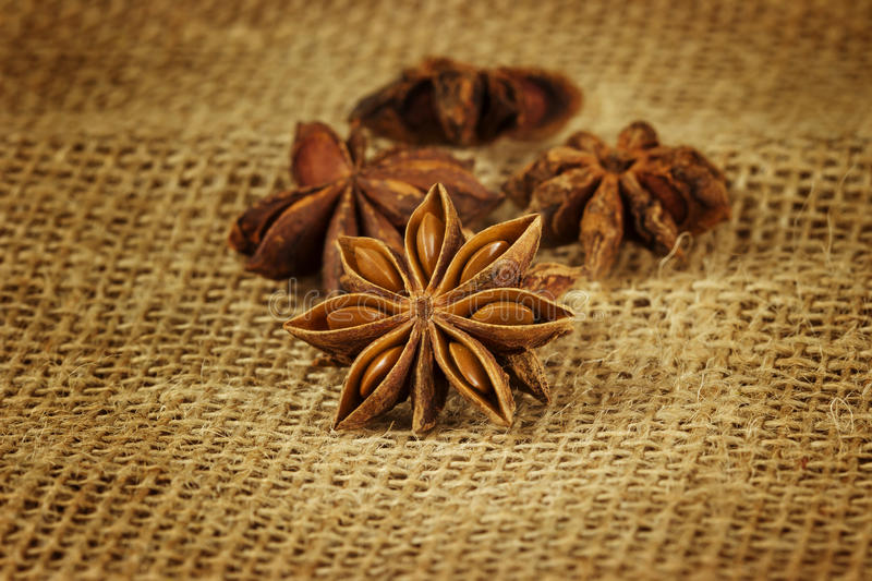 Download Star anise stock image. Image of burlap, background, flavor - 23809655