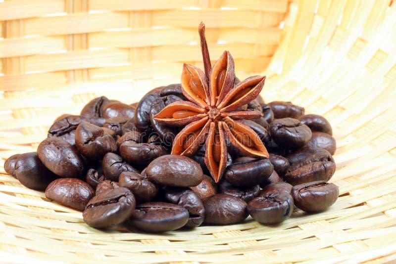 Star Anise Coffee bean stock photos