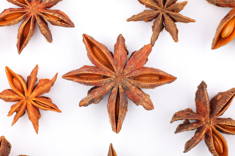 Star aniseed royalty free stock image