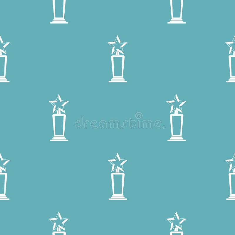 Star award pattern vector seamless. Repeating for any web design stock illustration