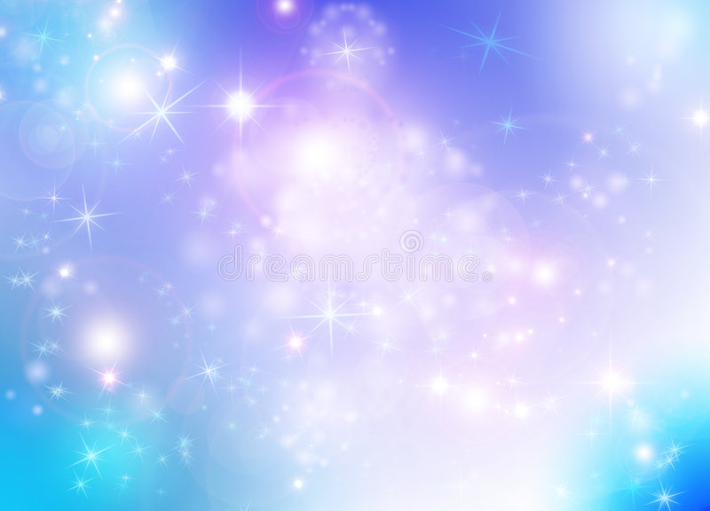 Star background vector illustration