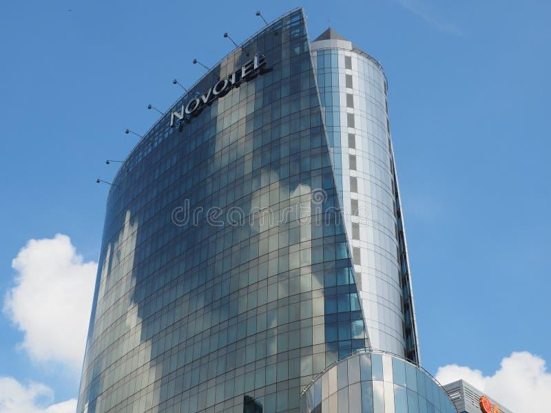 4 star Bangkok City Hotel Novotel Platinum stock photography