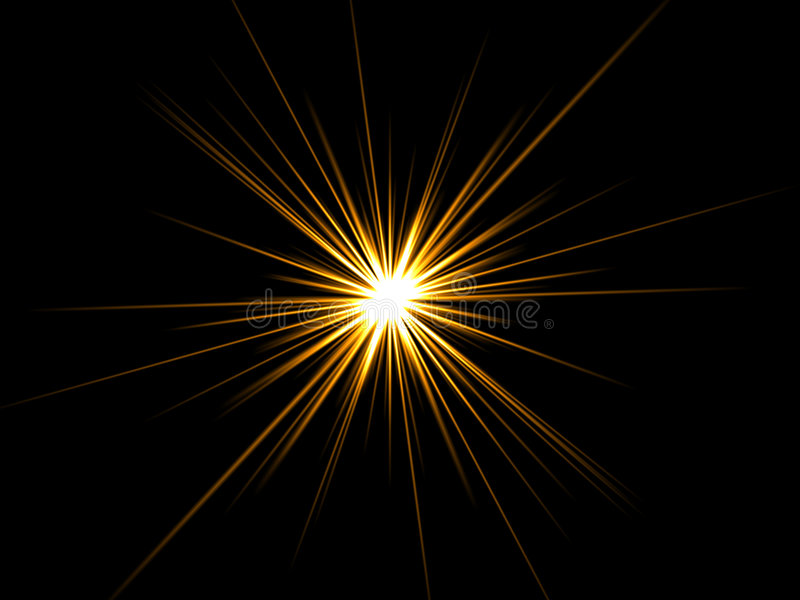 Download Star On A Black Background. Stock Photos - Image: 6889813