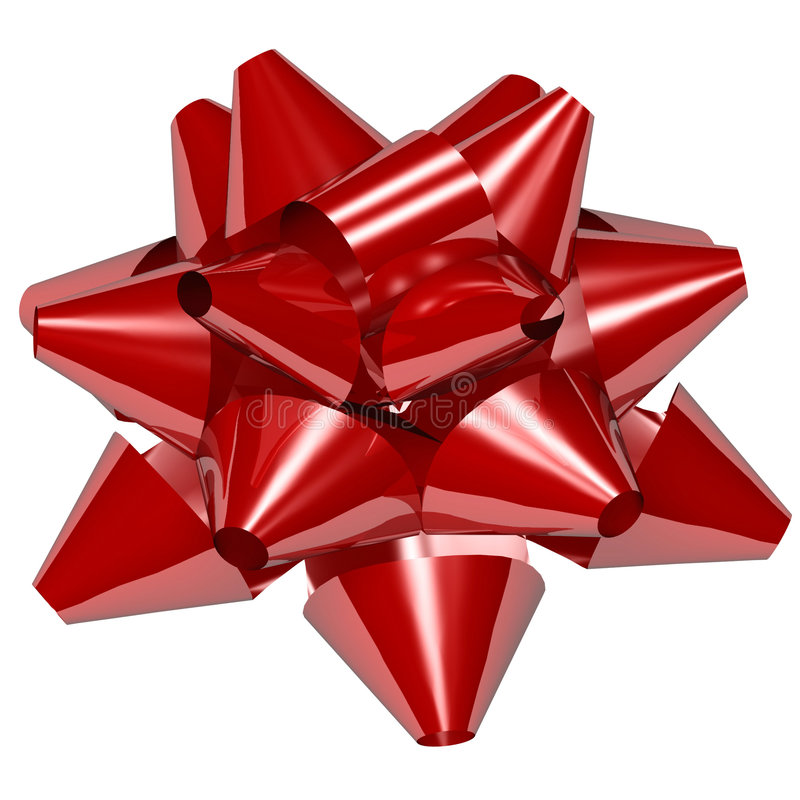 Download Star Bow Royalty Free Stock Photos - Image: 1403658