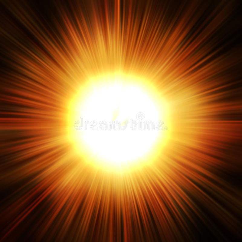 Star burst stock image