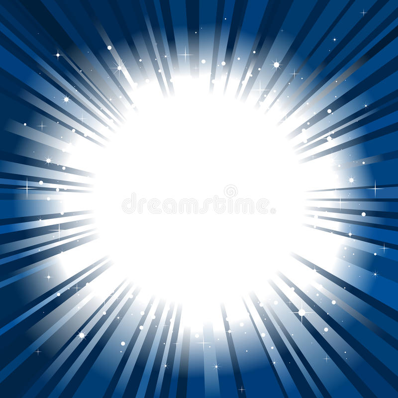 Download Star Burst Background Copy Space Stock Vector - Illustration of flare, night: 17725634