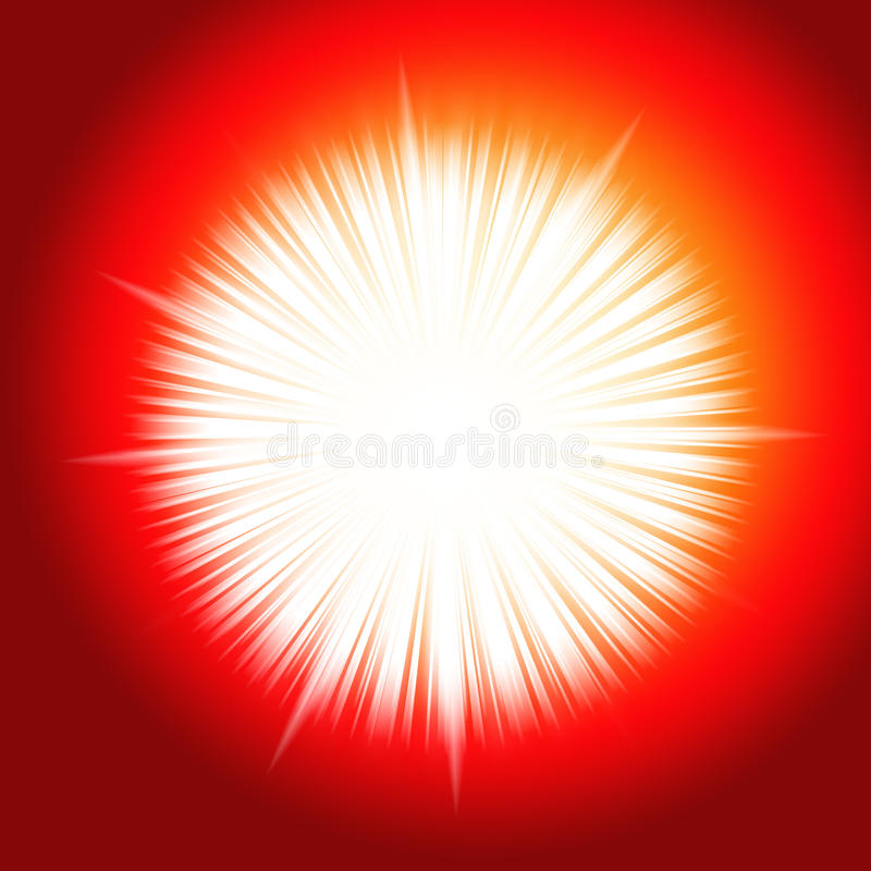 STAR BURST LIGHT stock photography