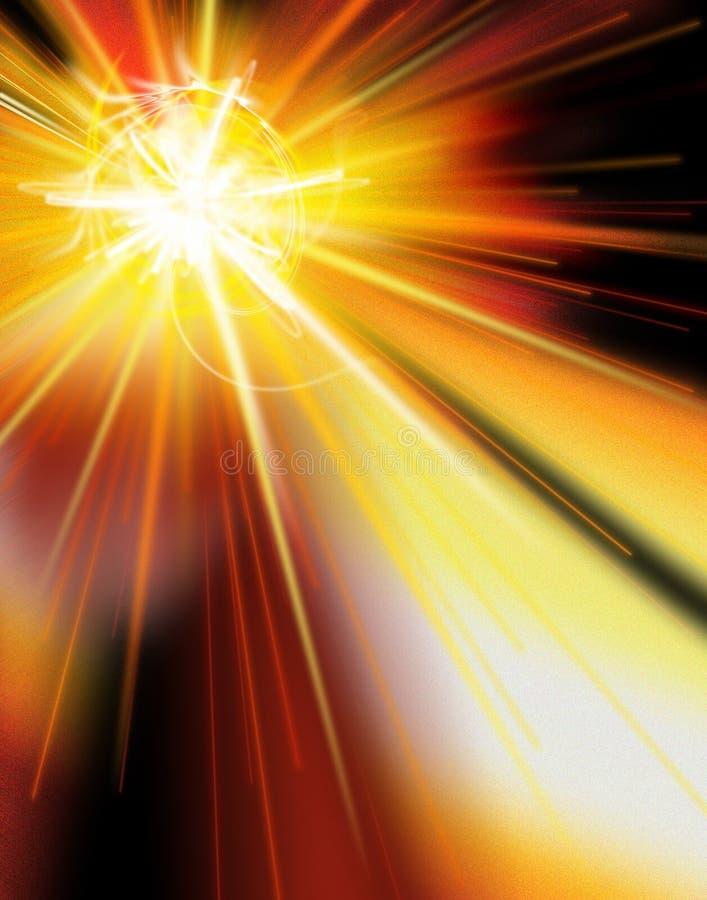 Download Star Burst3 stock image. Image of speed, starburst, warm - 2532987