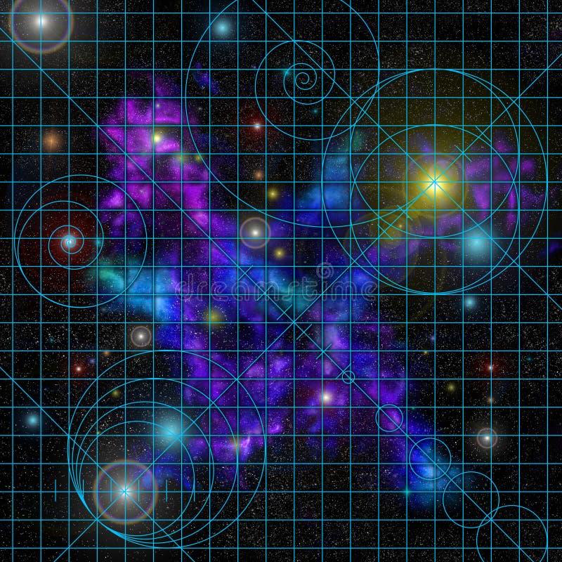 Star_chart vector illustratie