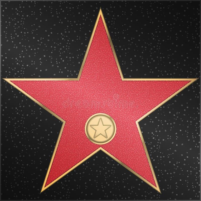 Star, classico, il film, la macchina fotografica, vettore fotografia stock