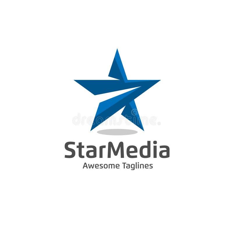 Star color vector logo. Star color icon, star rating, rank. Star astrology symbol. Star icon logotype. Sport star logo. Astronomy star logo royalty free illustration