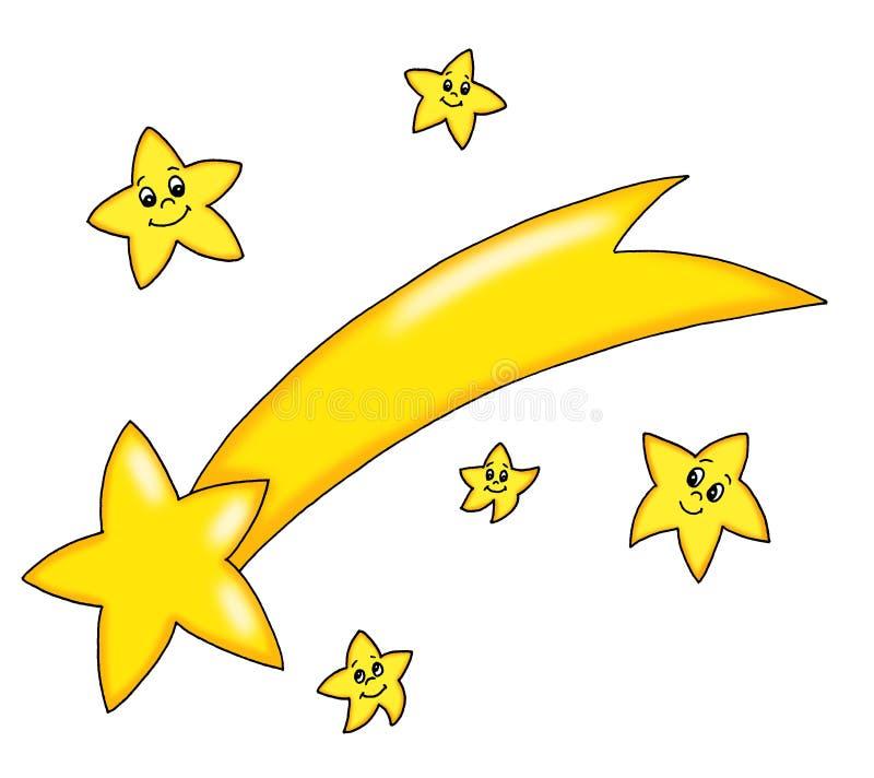 Star Comet Stock Photos