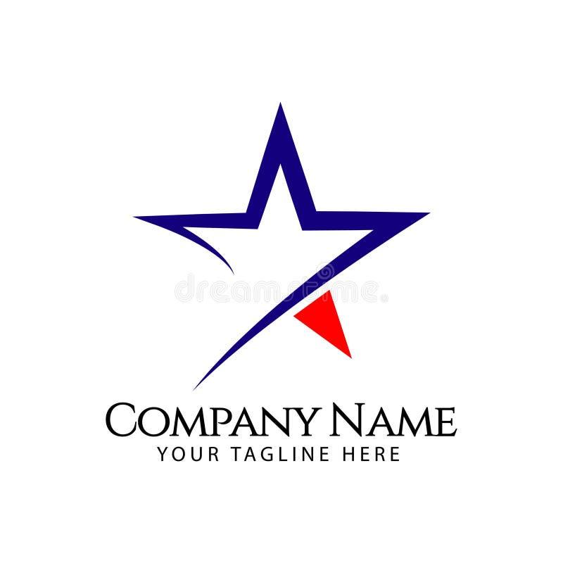 Star Company Logo Vector Template Design Illustration stock illustration