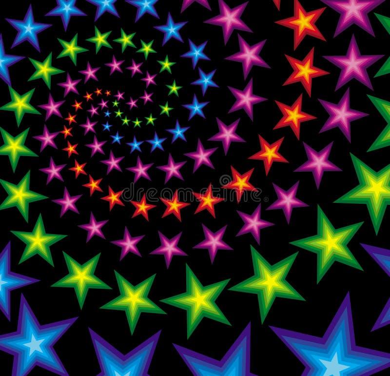 Star Composition vector illustration