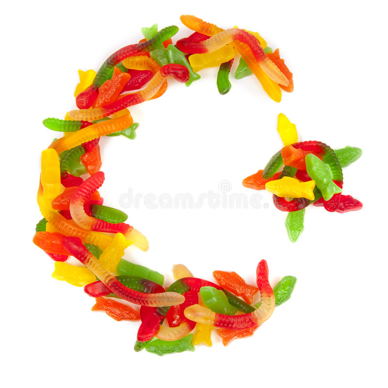 Star and Crescent of Candy stock images
