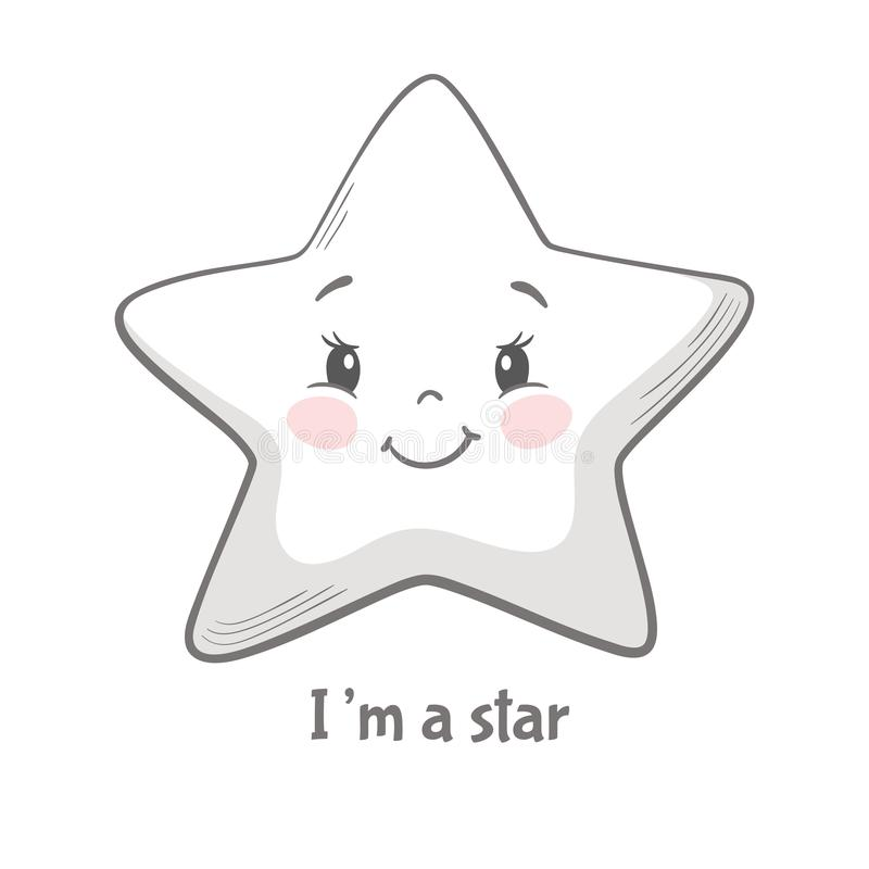 Free Star Cute Print Stock Images - 123149894
