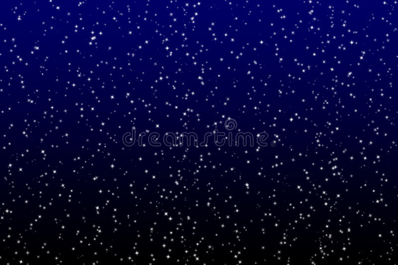 Star on the dark sky. Background vector illustration
