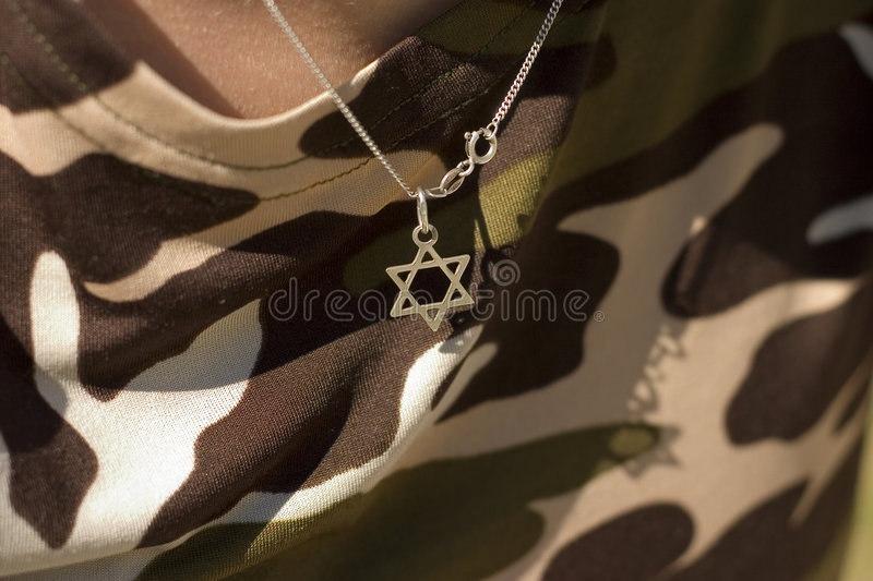 Download The Star of David stock image. Image of grass, camouflage - 1397319