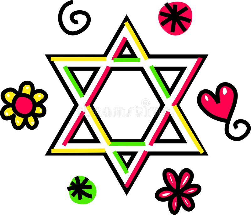 star of david cartoon doodle stock illustration illustration of rh dreamstime com Christmas Star Clip Art Bethleham Star Clip Art