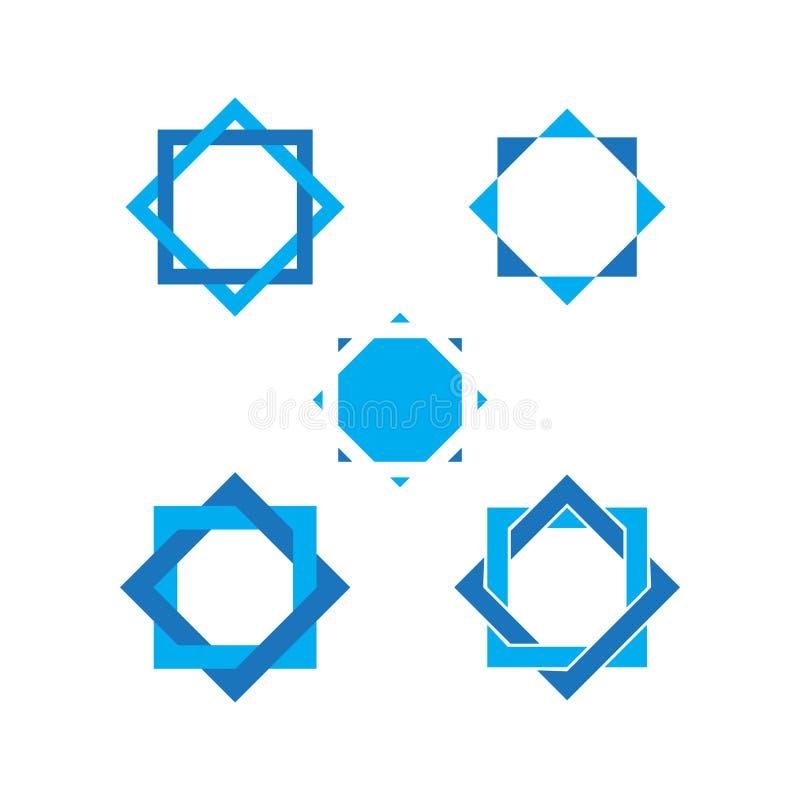 Star david graphic design template vector isolated illustration. Star david Star graphic design template vector isolated illustration, holy, chanukah, biblical vector illustration