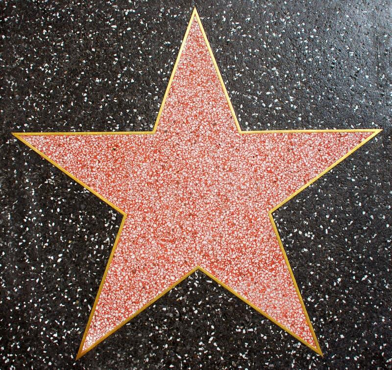 Star de Hollywood images libres de droits