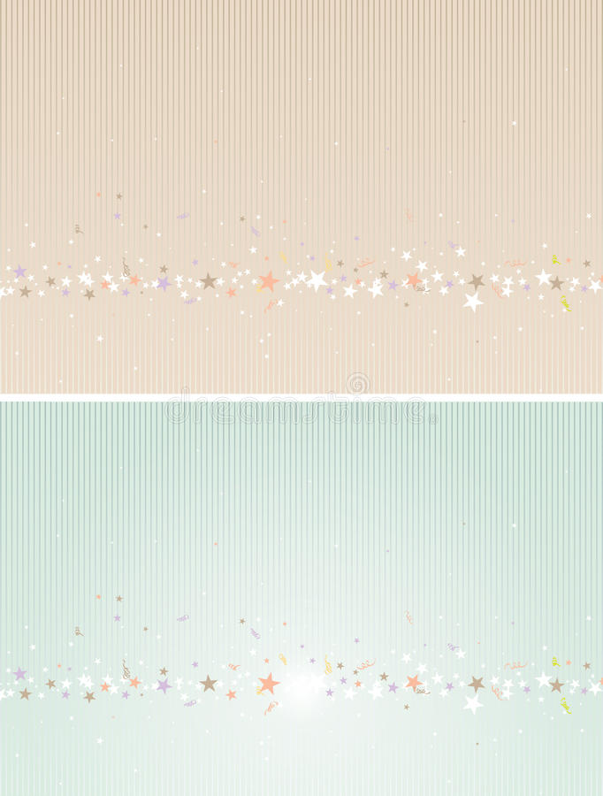 Star Decorated Backgrounds