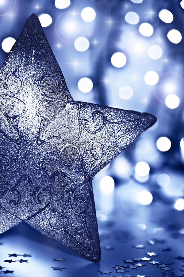 Free Star Decoration, Christmas Tree Ornament Stock Images - 22483184