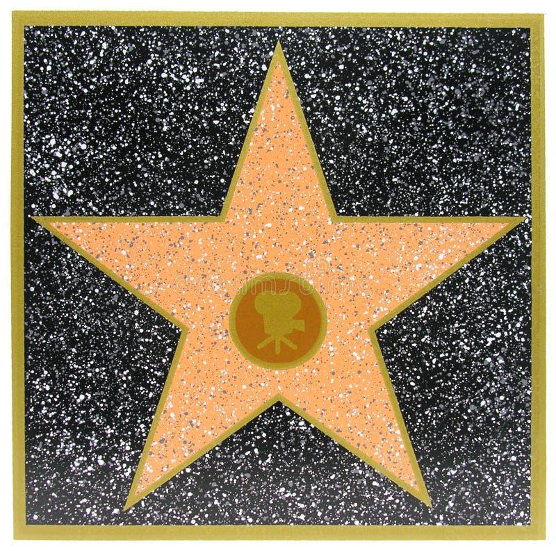 Star di Hollywood fotografie stock libere da diritti