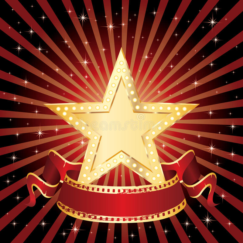 Download Star display rays stock vector. Image of advertising - 17027569