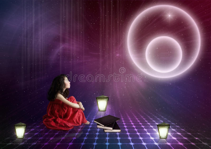 Star dreams royalty free stock photography