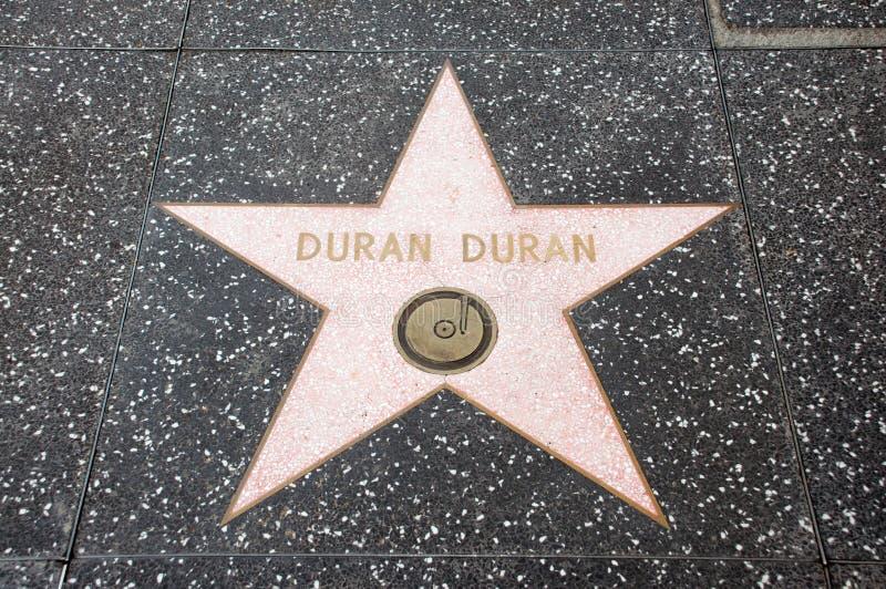 The star of Duran Duran stock photo