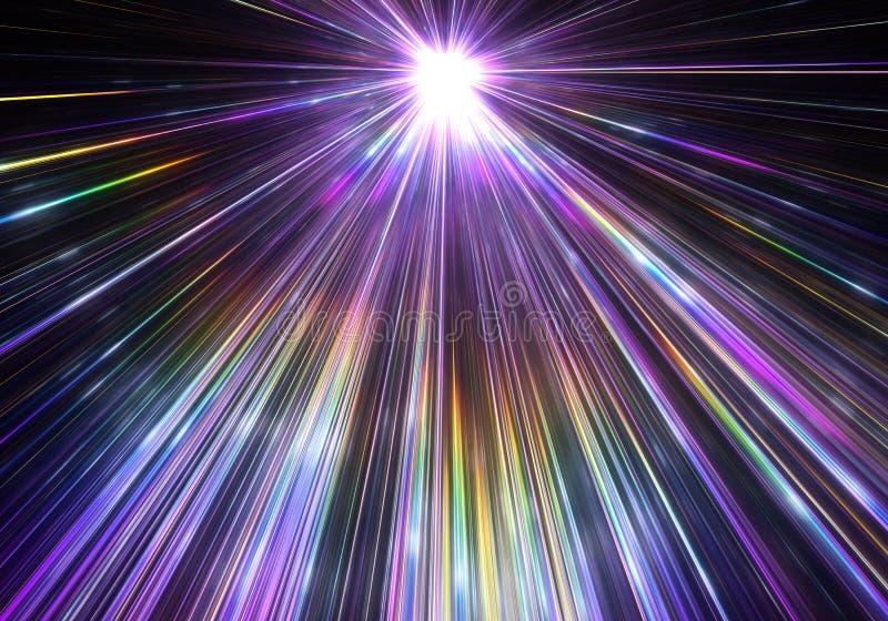 Star Display Rays Stock Vector  Illustration Of Blank