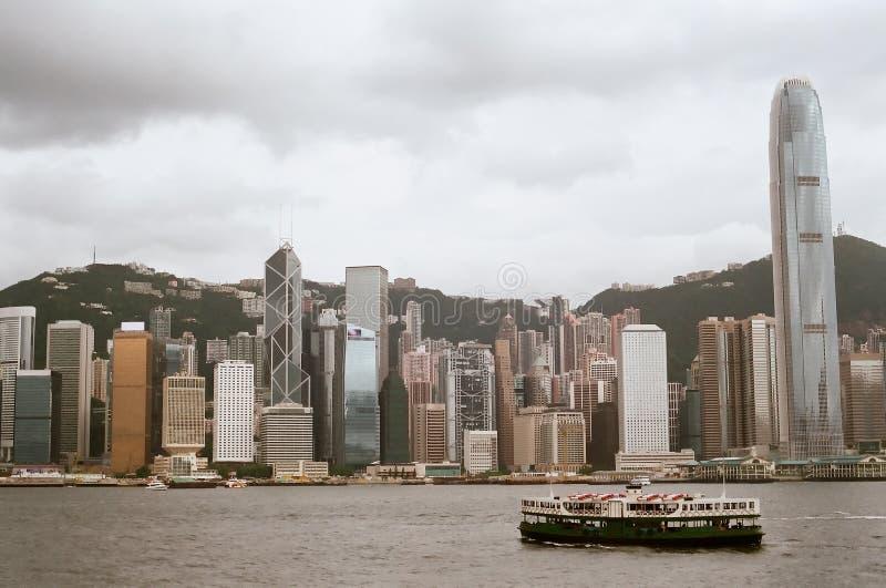 Star ferry, Hong Kong royalty free stock photos