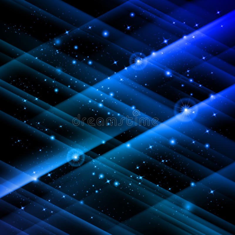 Star field. Abstract star field. Illustration for creative design stock illustration