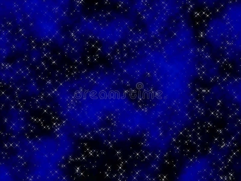 Star field vector illustration