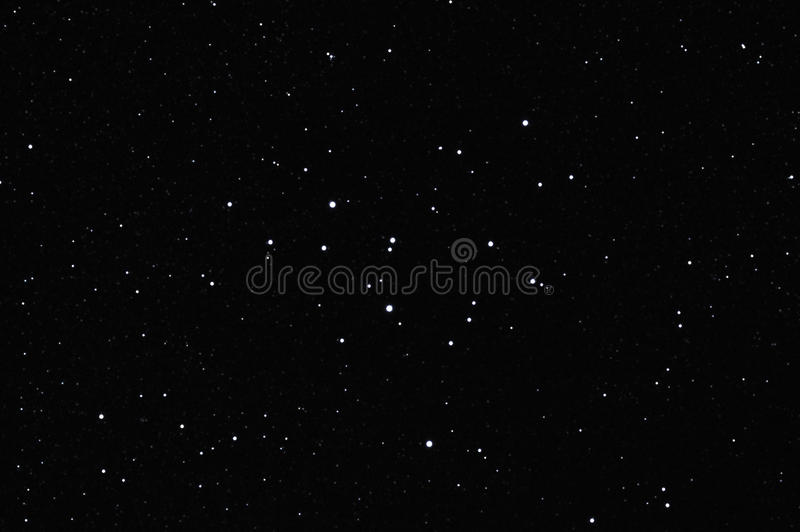 Star field with M39 royalty free stock images