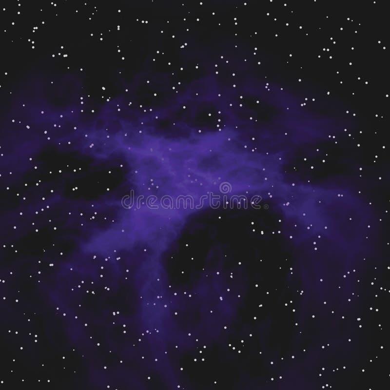 Star Field Nebula vector illustration