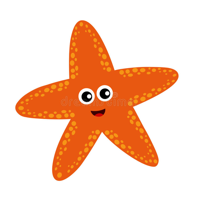 Star fish royalty free illustration