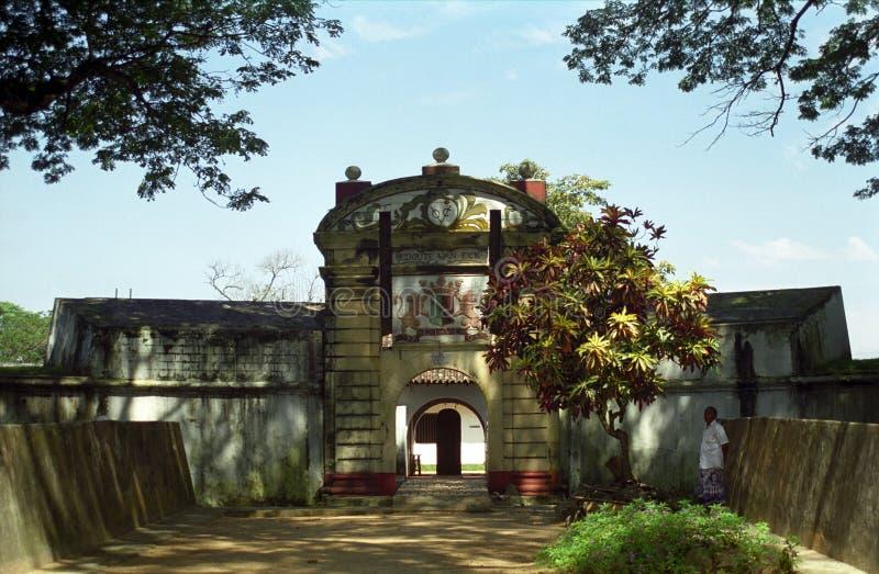 Star fort, Matara, Sri Lanka. Star fort in Matara, Sri Lanka royalty free stock photos
