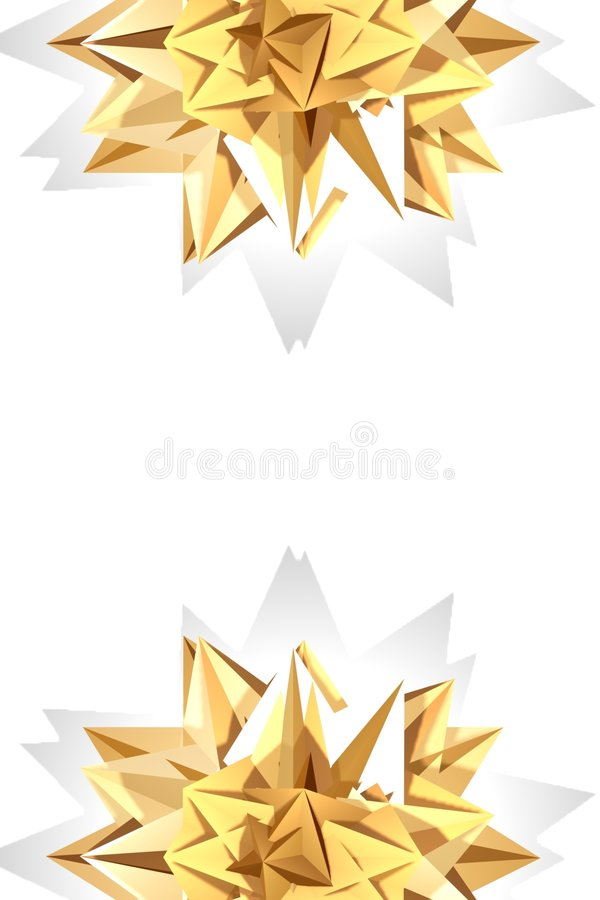 Star frame royalty free stock photo